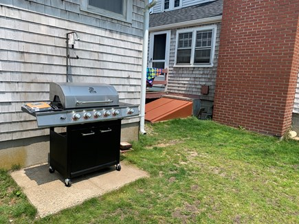 Dennis Port Cape Cod vacation rental - Brand new gas grill.