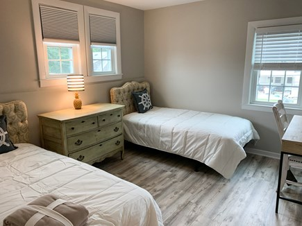 Dennis Port Cape Cod vacation rental - Upstairs Bedroom Two Twins.