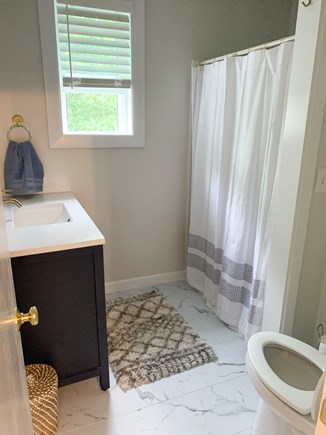 Dennis Port Cape Cod vacation rental - Upstairs Full Bathroom. Completely renovated.