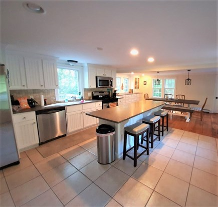 East Sandwich Cape Cod vacation rental - FABULOUS OVERSIZED KITCHEN /DINING
