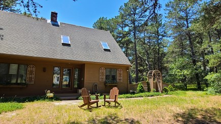 Wellfleet Cape Cod vacation rental - House is set on a wooded lot
