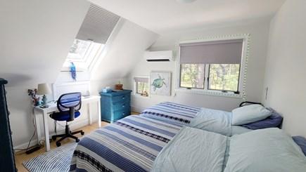 Wellfleet Cape Cod vacation rental - Second floor bedroom with two twin beds