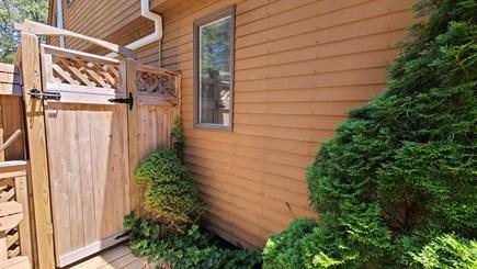 Wellfleet Cape Cod vacation rental - Enclosed outdoor shower