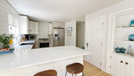 Wellfleet Cape Cod vacation rental - Nicely equipped kitchen with counter seating