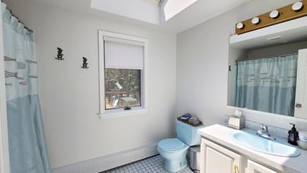 Wellfleet Cape Cod vacation rental - Second floor bathroom with tub/shower