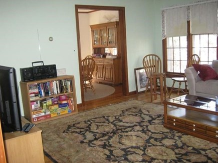 Truro Cape Cod vacation rental - Side of Living Room