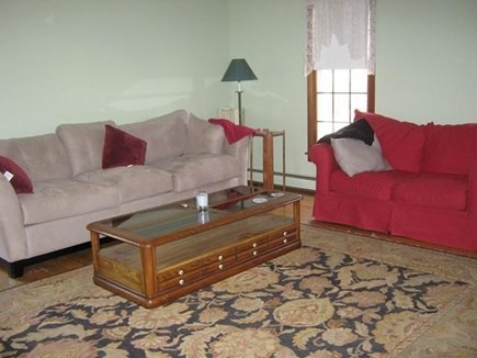 Truro Cape Cod vacation rental - Comfortable furniture in the Living Room