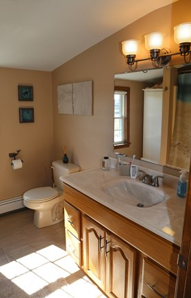 East Sandwich Cape Cod vacation rental - Second Floor Bath with Tub/Shower