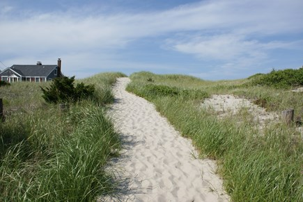East Sandwich Cape Cod vacation rental - Public Path to the beach is just across the street