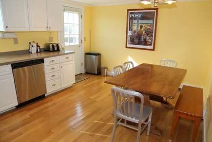 East Sandwich Cape Cod vacation rental - Dining table in Kitchen