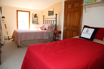 East Sandwich Cape Cod vacation rental - Bedroom on 2nd Floor with Double and 2 Twins