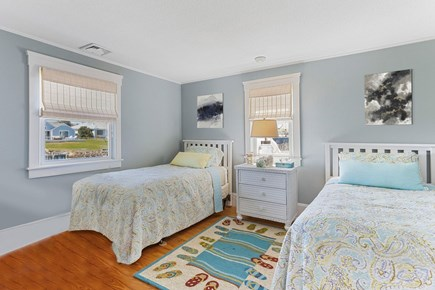 West Dennis Cape Cod vacation rental - Bedroom with 2 twin beds on 2nd Floor