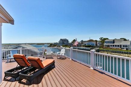 West Dennis Cape Cod vacation rental - 2nd Floor Deck overlooks the Waterway