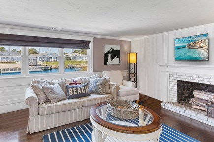 West Dennis Cape Cod vacation rental - Family Room