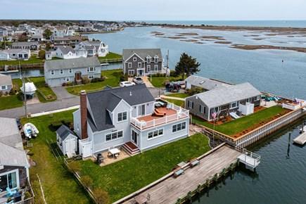 West Dennis Cape Cod vacation rental - Birdseye View Of House