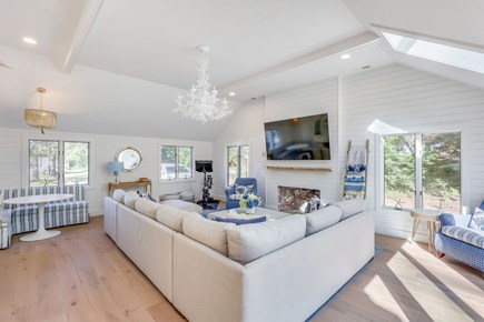 Centerville Cape Cod vacation rental - Family room with peloton