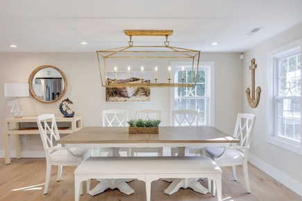 Centerville Cape Cod vacation rental - Bright, open dining room seats 8+ comfortably