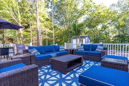 Centerville Cape Cod vacation rental - Brand new trek deck with outdoor tv