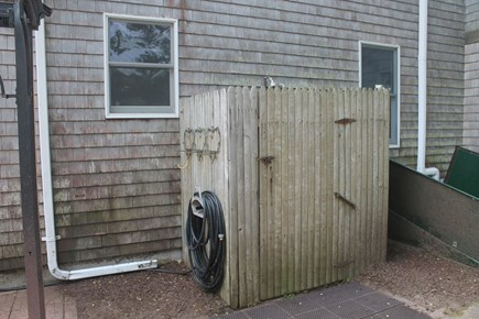 Eastham, Nauset Light - 3966 Cape Cod vacation rental - Outdoor Shower