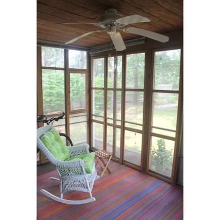 Eastham, Nauset Light - 3966 Cape Cod vacation rental - Screened Porch