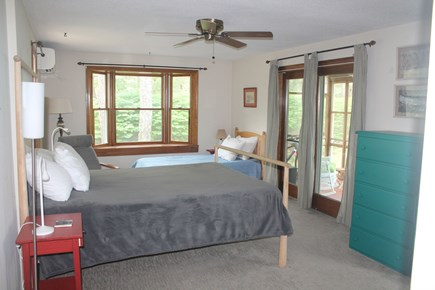Eastham, Nauset Light - 3966 Cape Cod vacation rental - First Floor Bedroom with Queen and Twin