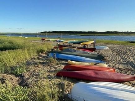 Wellfleet Cape Cod vacation rental - Old Wharf Landing Beach 1/2 mile away