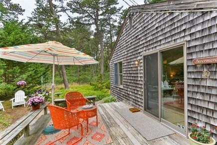 Wellfleet Cape Cod vacation rental - Deck off Kitchen for Outdoor Dining