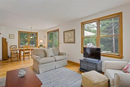 Wellfleet Cape Cod vacation rental - Open Floor Plan, Living Room with seating and Smart TV