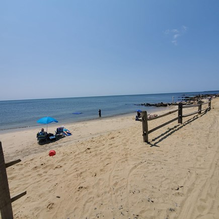Dennis, Old Wharf Road Cape Cod vacation rental - Beach Day!