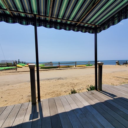 Dennis, Old Wharf Road Cape Cod vacation rental - View from your Front Porch