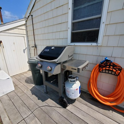 Dennis, Old Wharf Road Cape Cod vacation rental - Grill and Outdoor Shower