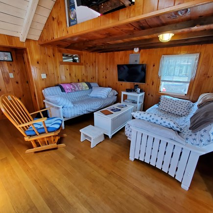 Dennis, Old Wharf Road Cape Cod vacation rental - Living Room