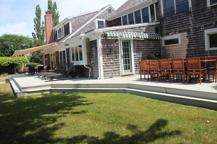 Orleans Cape Cod vacation rental - Back patio