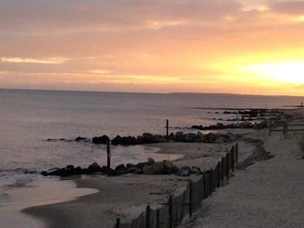 Dennis Port Cape Cod vacation rental - Beach at sunset