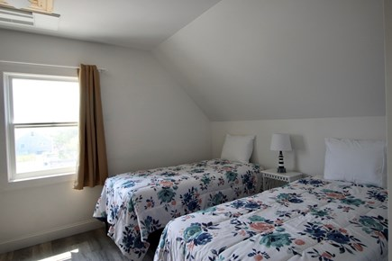 Truro Cape Cod vacation rental - Second Level Bedroom with Queen and 2 Twins