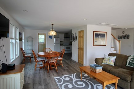 Truro Cape Cod vacation rental - Living Room to Dining