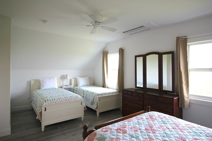 Truro Cape Cod vacation rental - Second Level Bedroom with Double and 2 Twins