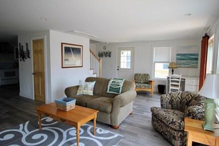 Truro Cape Cod vacation rental - Living Room looking toward Desk