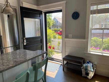 Provincetown Cape Cod vacation rental - Front door.
