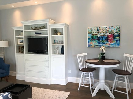 Provincetown Cape Cod vacation rental - Eating area.