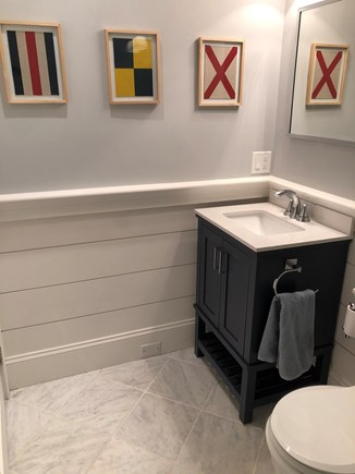 Provincetown Cape Cod vacation rental - Bathroom, newly replaced vanity.