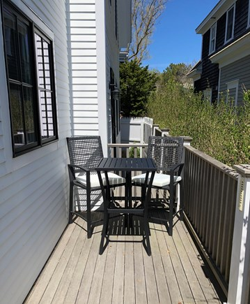 Provincetown Cape Cod vacation rental - Side Deck.