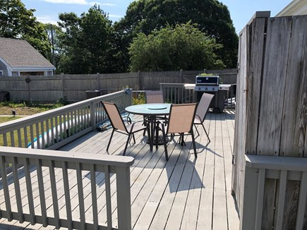 Dennis Cape Cod vacation rental - Outdoor dining and grill