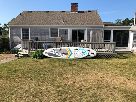 Dennis Cape Cod vacation rental - Backyard view
