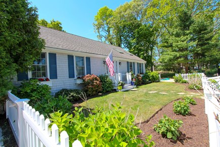 Osterville Cape Cod vacation rental - Front of the Duplex