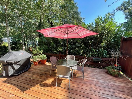 Osterville Cape Cod vacation rental - Private Deck with Grill