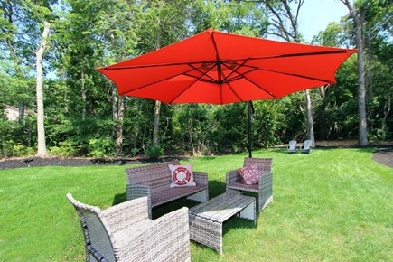 Bourne, Monument Beach Cape Cod vacation rental - Outside living area