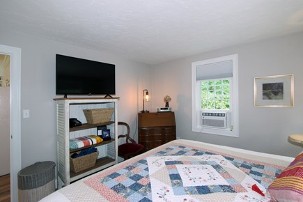 Bourne, Monument Beach Cape Cod vacation rental - 1st floor Master Bedroom.  King bed and AC
