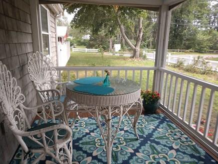 West Dennis Cape Cod vacation rental - Screen porch