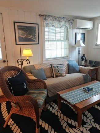 West Dennis Cape Cod vacation rental - Living room seating